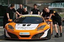 Blancpain GT Serien - BES-Testfahrten: McLaren wieder am schnellsten