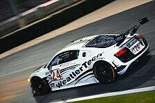 Mehr Sportwagen - Audi mit starkem GT-Aufgebot nach Daytona