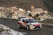 WRC - Monte Carlo: Ogier knabbert an Loeb-Führung