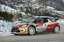 WRC - Monte Carlo: Loeb führt in den Nachmittag