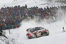 WRC - Loeb: Auf bestem Wege zum Monte-Sieg