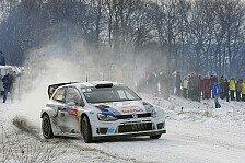 WRC - Ogier mit bisher perfekter Rallye