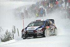 WRC - Östberg visiert Schweden-Sieg an
