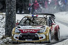 WRC - Loeb fährt siebtem Monte-Sieg entgegen