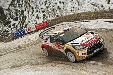 WRC - Monte Carlo: Loeb trotz Führung verärgert