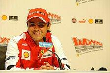 Formel 1 - Massa: Sehr gutes Gefühl