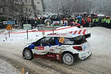 WRC - Bouffier in Monte Carlo am Start