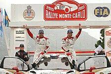WRC - Rallye Monte Carlo startet vor dem Casino