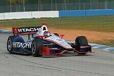IndyCar - Sato Schnellster bei Foyt-Debüt