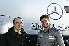 Formel 1 - Kubica im Mercedes-Simulator