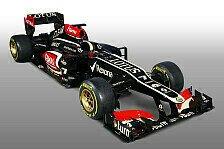 Formel 1 - Lotus will mit E21 die Top-3 stürmen