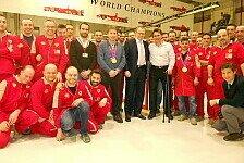 Formel 1 - Zanardi zu Besuch in Maranello