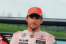 Formel 1 - Button testet neuen McLaren als Erster