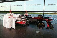 Formel 1 - McLaren-Präsentation im Zeichen des Jubiläums