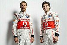 Formel 1 - McLaren: Button hält große Stücke auf Perez