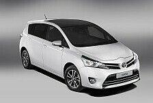 Auto - Toyota Verso: Variable und vielseitige Extras