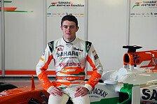 Formel 1 - Di Resta von neuem Auto beeindruckt