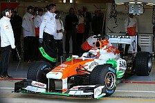 Formel 1 - Force India: Sutil und Bianchi dürfen hoffen