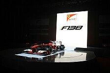 Formel 1 - Technische Spezifikation des Ferrari F138