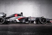 Formel 1 - Sauber enthüllt den C32-Boliden