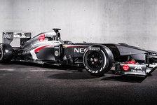Formel 1 - Sauber C32: Topteamjäger im schlanken Design