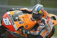 MotoGP - Regen verkürzt Testtag zwei