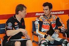 MotoGP - Trotz Sturz und Regen guter Start bei Honda