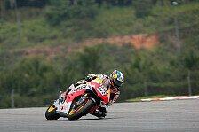 MotoGP - Honda-Duo reist mit guter Laune ab