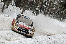 WRC - Hirvonen steckte 24 Minuten im Schnee