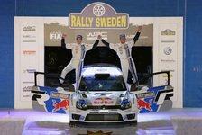 WRC - Video - Volkswagen feiert den Schweden-Sieg