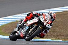 Superbike - Fabrizio überrascht an der Spitze
