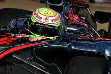 Formel 1 - Perez fiebert McLaren-Debüt entgegen
