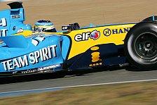 Formel 1 - Testing Time, Tag 2: Fisichella pulversierte die Pole-Zeit!