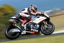 Superbike - Fabrizio besetzt weiter die Pole