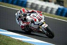 Superbike - Hartes Wochenende für Honda