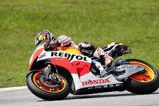 MotoGP - Pedrosa und Marquez arbeiten Plan ab