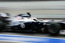 Formel 1 - Williams: Hausaufgaben gut gemacht?