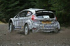 WRC - M-Sport Ford Fiesta R5 vor Asphalttests