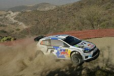 WRC - Ogier liegt in Mexiko in Führung