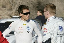 WRC - Ogier beeindruckt Latvala