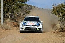 WRC - Volkswagen führt Rallye Mexiko an