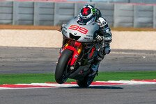 MotoGP - Lorenzo & Rossi wollen noch viel lernen
