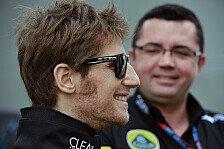 Formel 1 - Grosjean von Boullier-Abgang überrascht