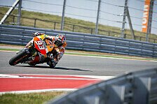 MotoGP - Marquez erneut voran, Bradl auf Rang drei