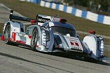 USCC - Audi holt die Pole in Sebring