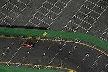 Formel 1 - Aufregung um rutschige Straßenmarkierungen