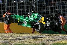 Formel 1 - Van der Garde: Bekanntschaft mit dem Kiesbett