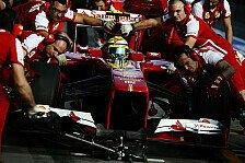 Formel 1 - Ferrari gegen Red Bull in der Boxengasse