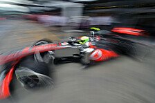 Formel 1 - Perez: Pace liegt außerhalb der Top-10