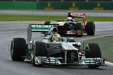 Formel 1 - Rosberg: Erste Startreihe wäre drin gewesen